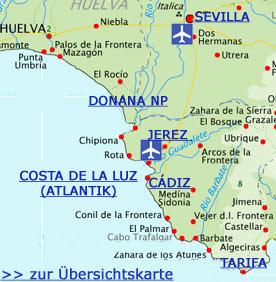 Karte Andalusien Cadiz.Cádiz Andalusien Reiseführer Tipps Für Urlauber