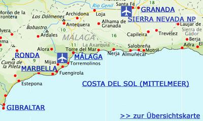 Karte Gibraltar Umgebung.Granada Andalusien Reiseführer Tipps Für Urlauber